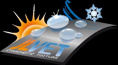 Logo JLVET, spécialiste étanchéité