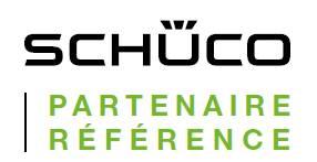 Logo Schuco, partenaire référence