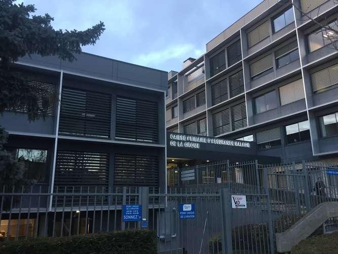 Photo de la réalisation CPAM de la Drôme
